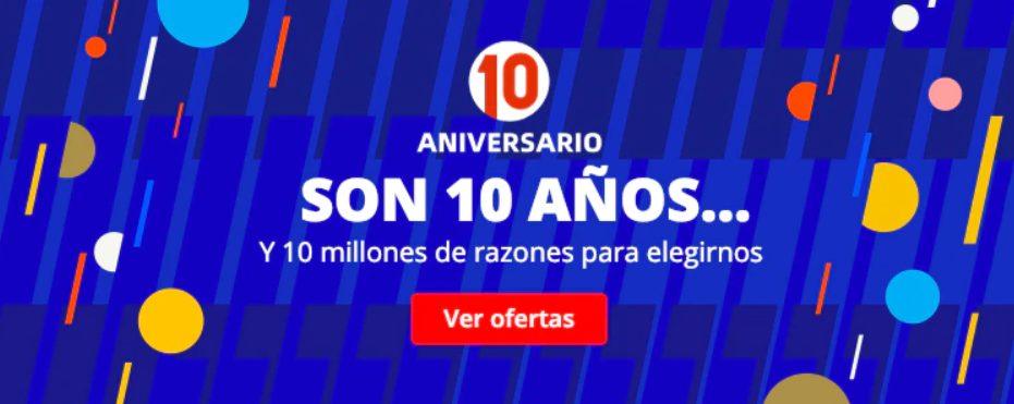 10º aniversario AliExpress 2020: Cupones descuento, selección y monedas