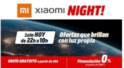 Especial Online Solo Hoy! Xiaomi Night Mediamarkt, desde las 22h a 10h