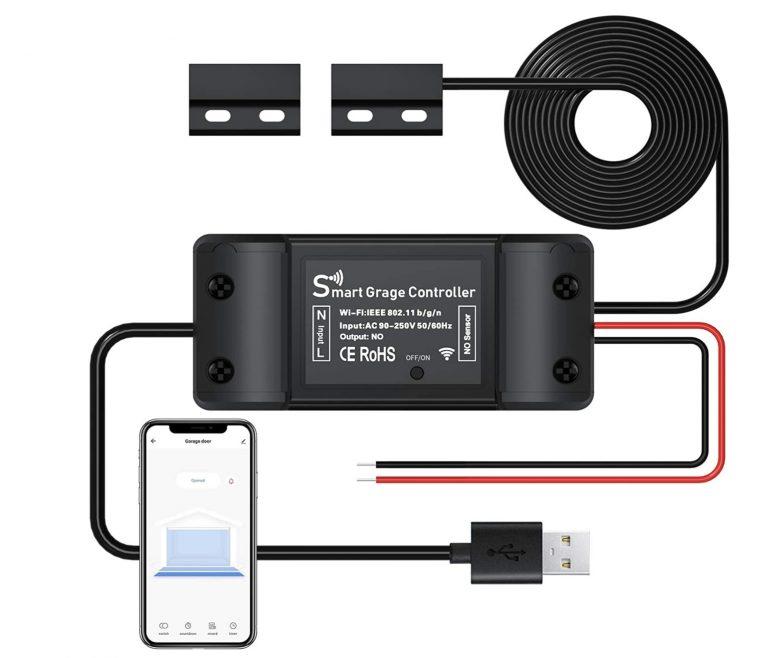 OFERTA AMAZON! Controlador puerta de garaje WiFi a 15,6€