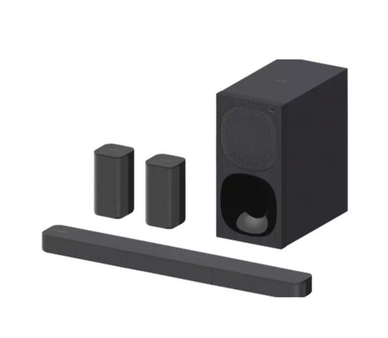 CHOLLO Amazon! Barra de sonido Sony 120W 2.1 a 78€ y 400W 5.1 a 159€