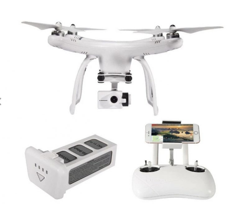 PRECIAZO LOCO desde España a mas del 50%! Drone Up Air Upair One 2.7K GPS a 87€