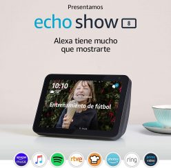Nuevo Amazon Echo Show 8 y rebajas en la gama Amazon Echo