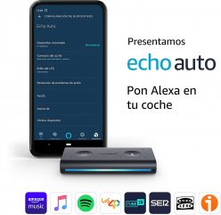 REBAJA! Amazon Echo Auto: Alexa para tu coche por solo 39,9€