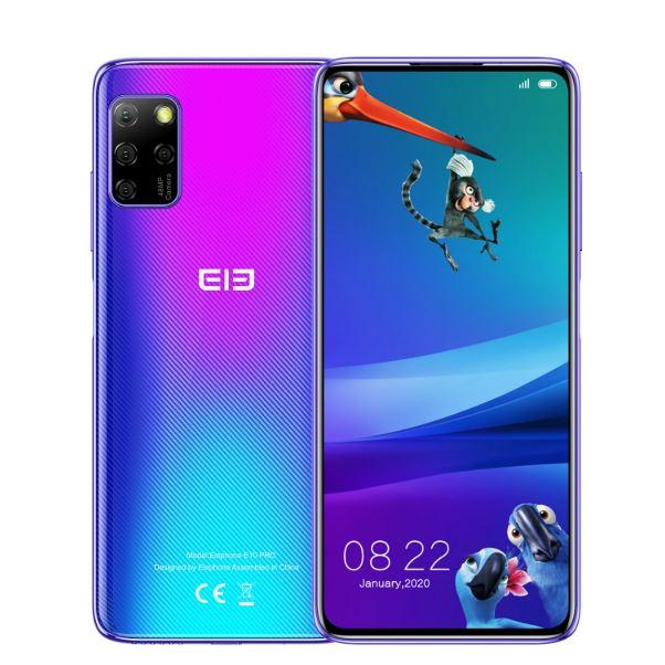 Elephone E10 Pro: pantalla 6,55″, cuatro cámaras, 4GB + 128GB y NFC, a 116€