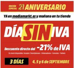 Dia SIN IVA Mediamarkt 2020