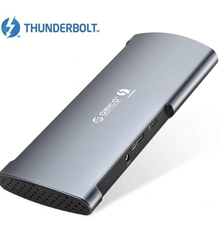 Cupon AMAZON! Docking Station 8 en 1 Thunderbolt 3 para MacBook a 209,9€