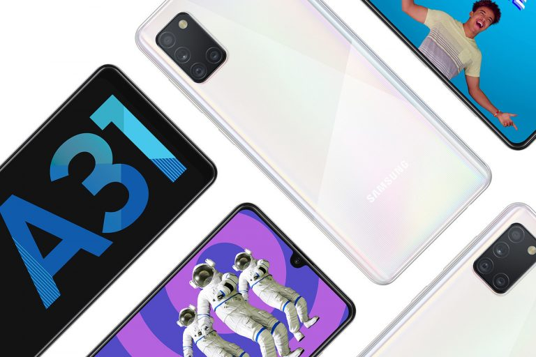 Samsung A31: 4/64GB, cuatro cámaras 48 mpx y enorme batería con cupon desde España a 229€