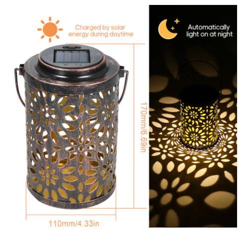 OFERTITA! Lampara solar LED a prueba de agua a 8€