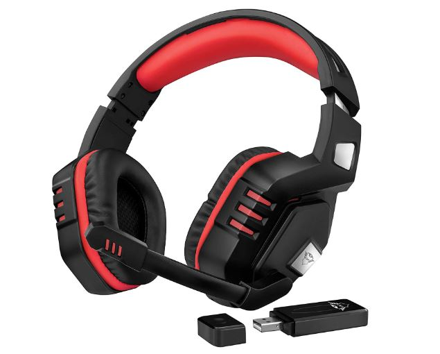 OFERTA AMAZON! Auriculares inalambricos Trust GXT 390 a 47€