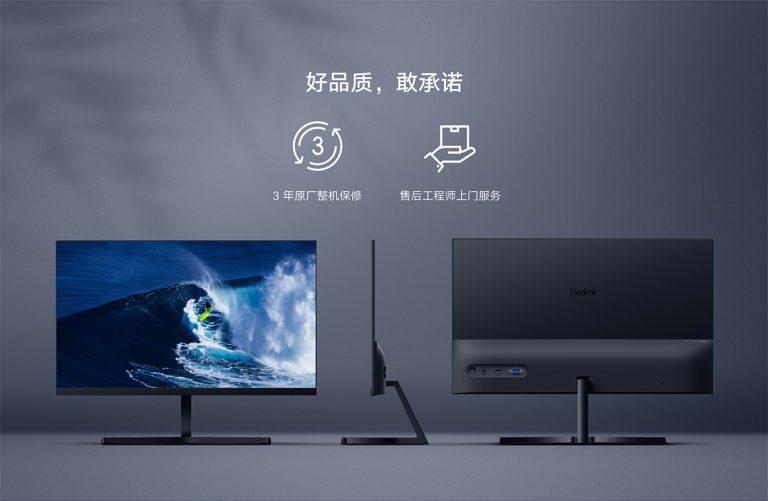 PRECIAZO Amazon! Xiaomi Redmi Monitor 1A/1C: el monitor low cost de Xiaomi desde Europa a 99€