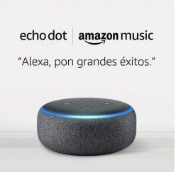 Rebaja Amazon! Echo Dot 3.ª a 24,9€