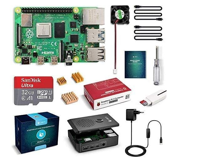 BUEN PRECIO AMAZON! Pack Raspberry Pi 4 Model B a 74,9€