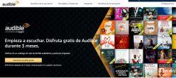 Vuelve Amazon! GRATIS 3 Meses de Audible España