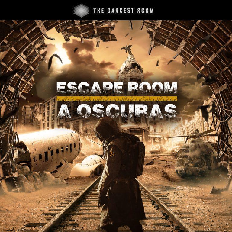 ¡DESCUENTO EXCLUSIVO! 20% de descuento en The Darkest Room, el escape Room a oscuras de Madrid