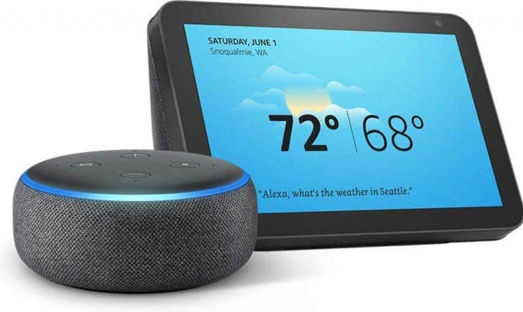 Rebajas en la gama Amazon Echo, Echo Dot a 24,9€ Show 8 a 64,9€ etc..