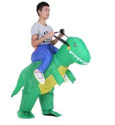 OFERTA AMAZON! Disfraz dinosaurio inflable a 17,9€