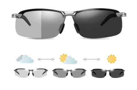 gafas de sol fotocromaticas polarizadas