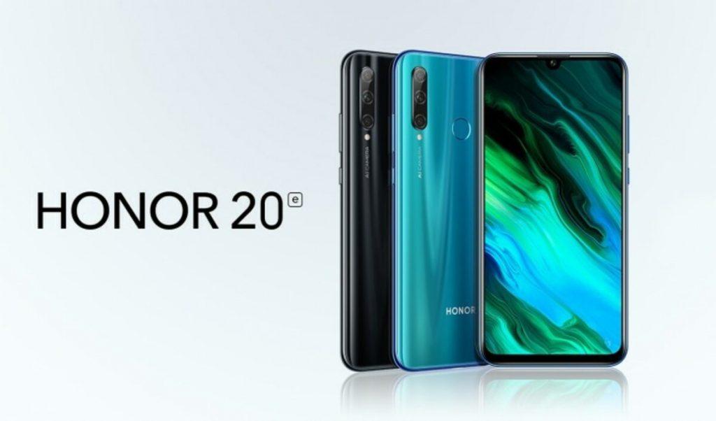 Honor 20E: Novedad con oferta desde España con 4/64GB a 135€