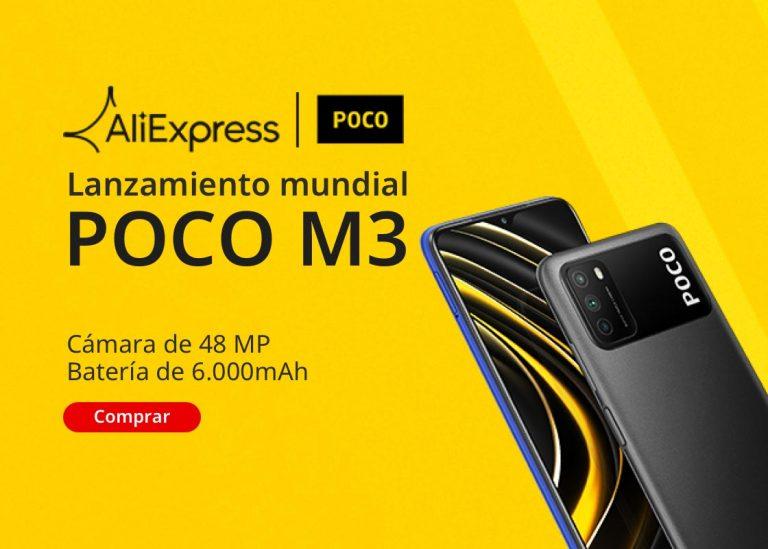 PRECIAZO desde España! Xiaomi Poco M3 6000mah 64GB a 107€ y 128GB a 123€