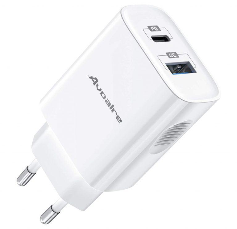 PRECIAZO AMAZON! Cargador rapido Avoalre 20W USB a 10€