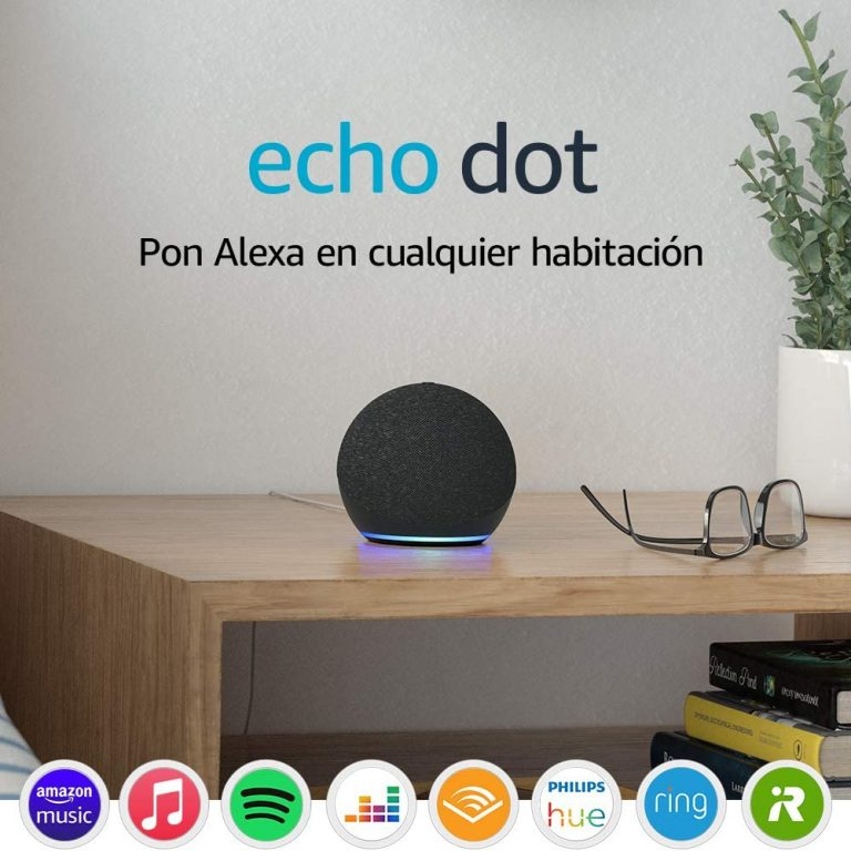 Rebaja Amazon! Amazon Echo Dot 4ª gen a 34,9€