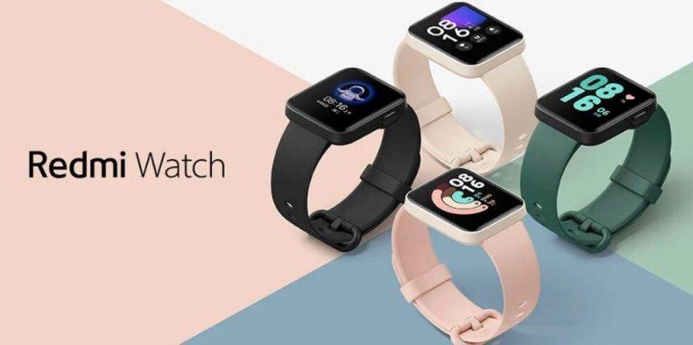 Redmi Watch: pantalla a color, siete días de autonomía a 41€