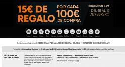 Nueva Promoción: 15€ de regalo por cada 100€ de compra en Fnac