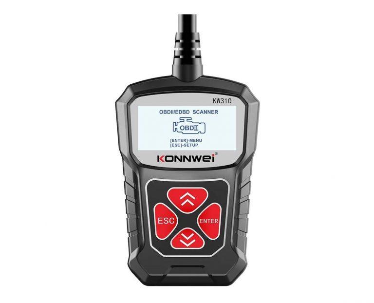 OFERTA AMAZON! Escaner de coche OBD2 KW310 a 12,7€