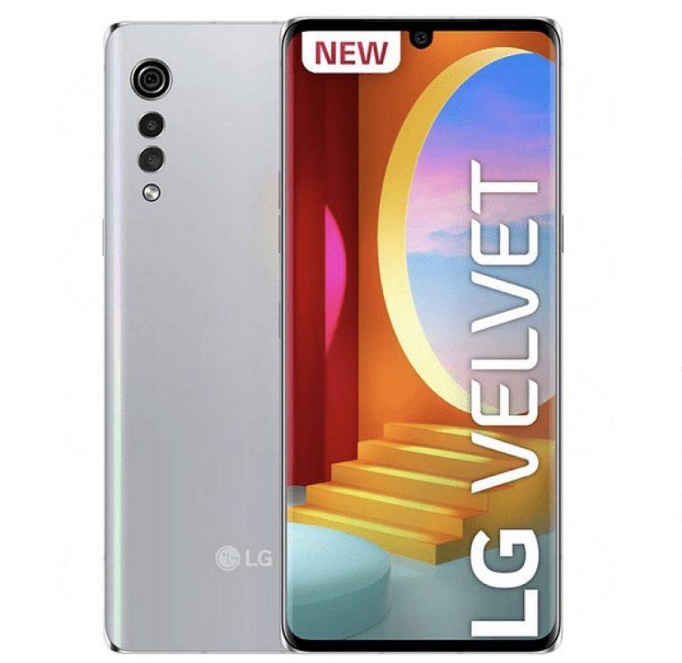 Minimo! LG Velvet OLED 128GB a 299€