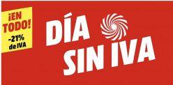 Dia SIN IVA Mediamarkt 2021