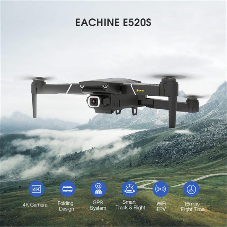 BUEN PRECIO desde ESPAÑA! Eachine E520S 4K GPS a 53€