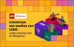 Cupones para productos Lego en Aliexpress