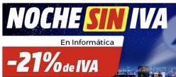 NOCHE SIN IVA Mediamarkt para Informática y Smart Home