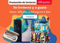 Cupones y ofertas Aliexpress – Promoción de Invierno (Actualizados)