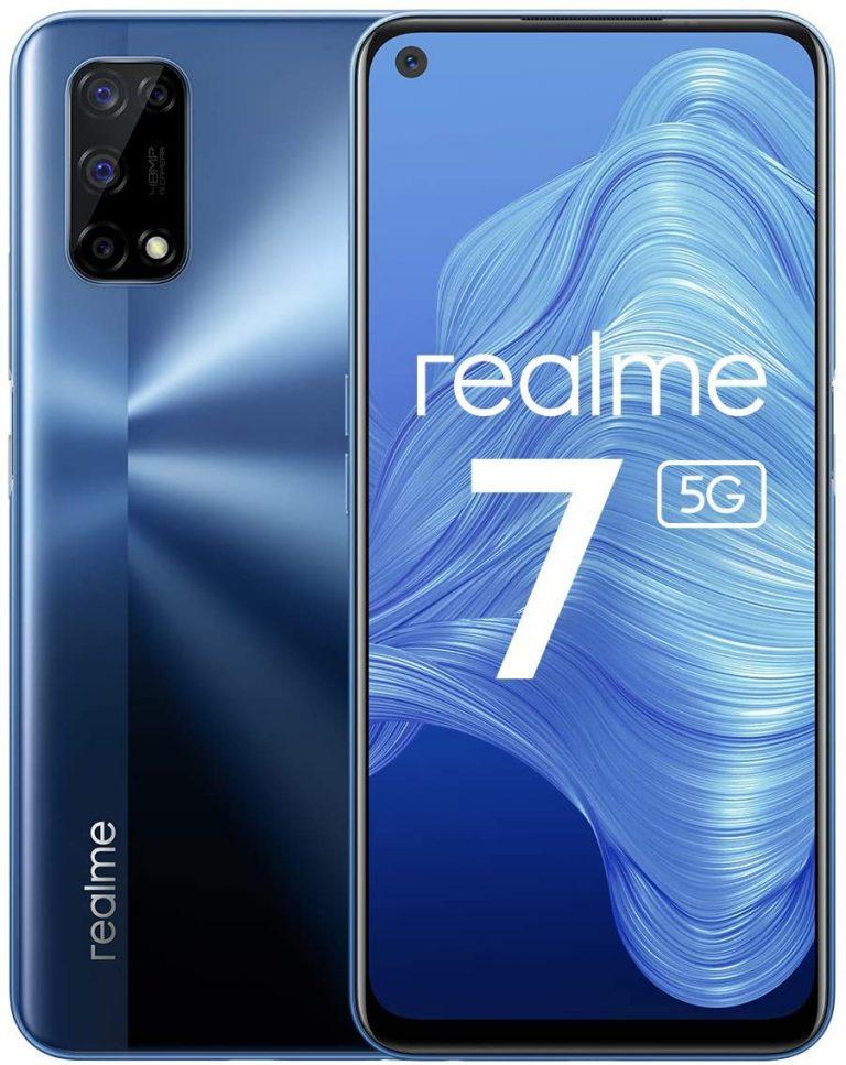 Realme 7 5G: pantalla 120 Hz, 4 cámaras y gran batería, desde España a 276€