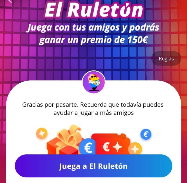 Ruleton de Aliexpress: Consigue hasta 200€ en cupones totalmente GRATIS