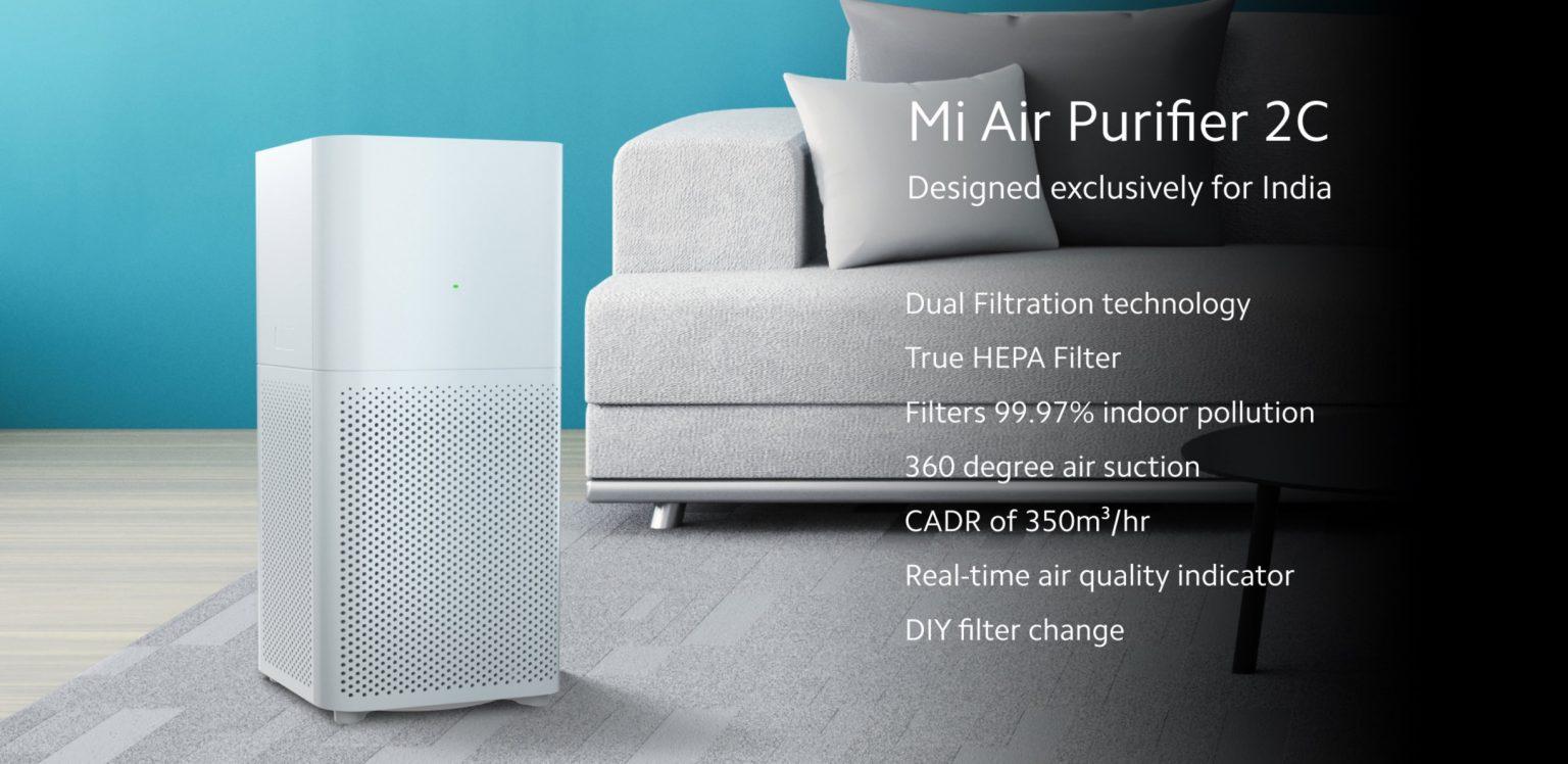 PRECIAZO Amazon! Xiaomi Air Purifier 2C a 88€