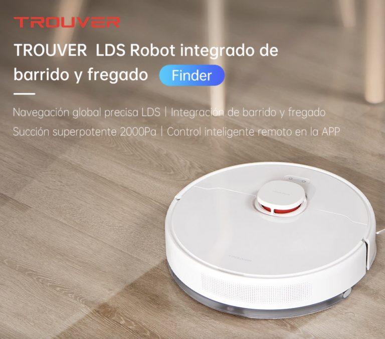 PRECIAZO Desde España! Xiaomi Trouver RLS3 Finder LDS aspira y friega a 170,9€