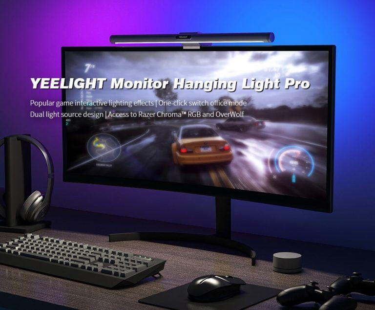 Xiaomi Yeelight YLTD003 Pro consigue un estilo ambilight para tu PC, de oferta al mejor precio
