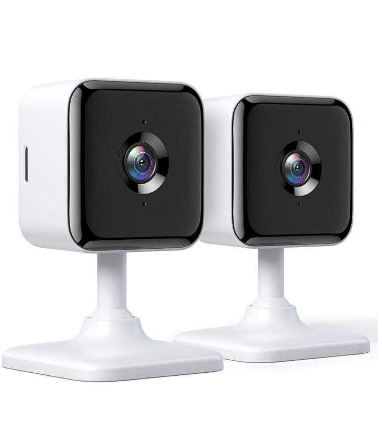 Mas Preciazo AMAZON! Pack 2x Camara vigilancia Teckin 1080P FHD WIFI a 25,9€