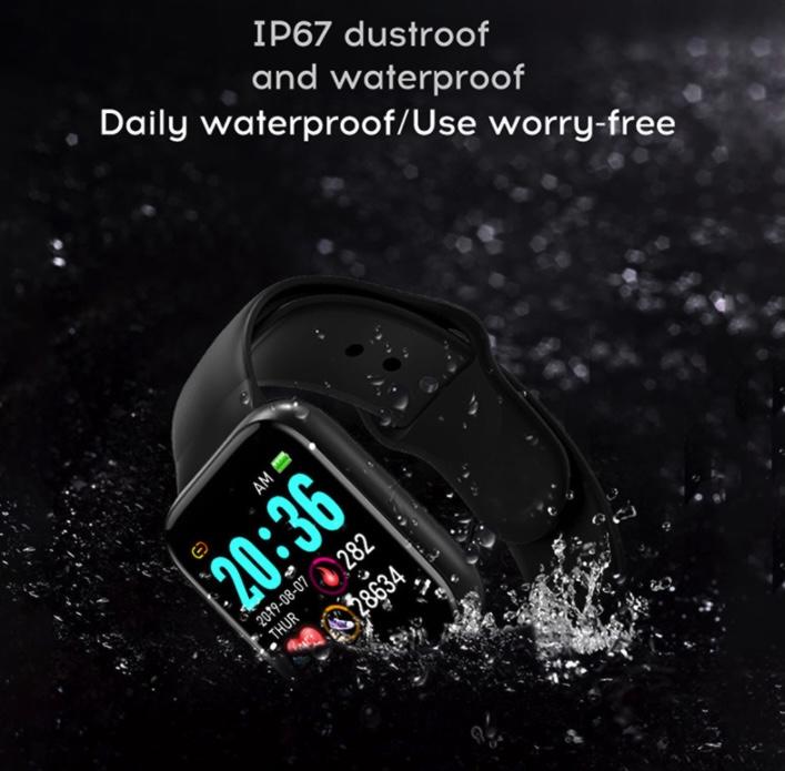 resistente al agua smartwatch y68