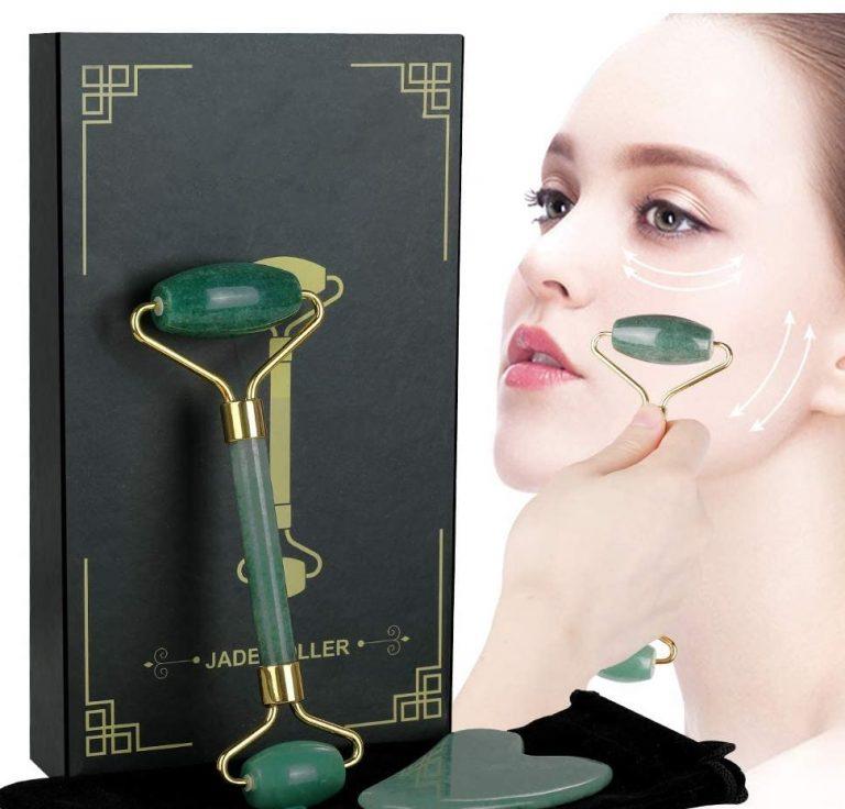 OFERTITA AMAZON! Rodillo facial piedra de Jade a 8,9€
