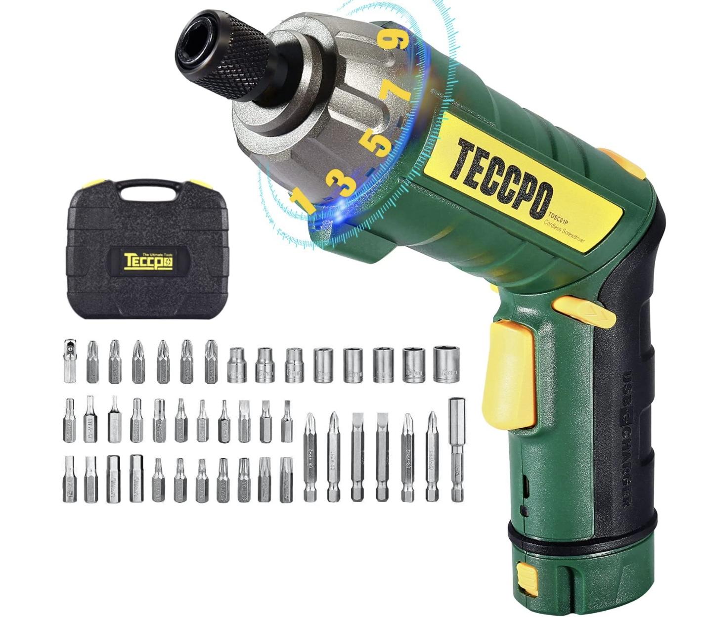 Atornillador Electrico Teccpo 3.6V