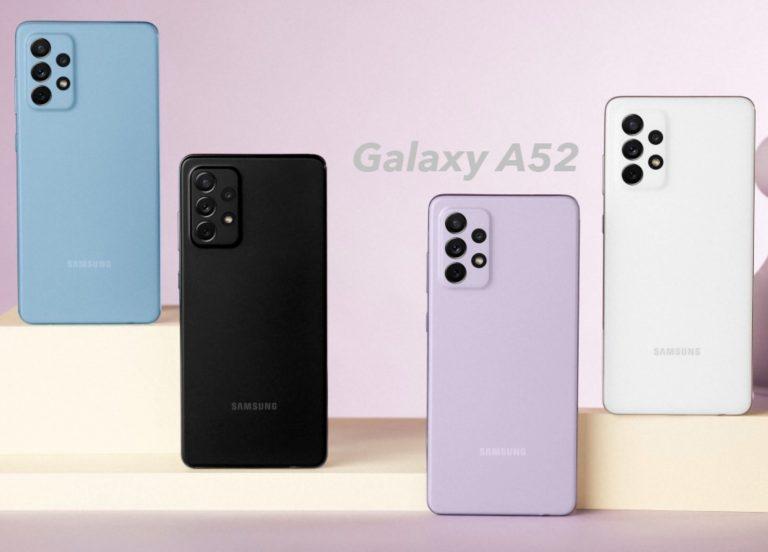 Samsung Galaxy A52 te regalan los Galaxy Buds+ por lanzamiento