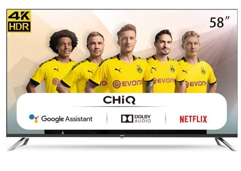 TV ChiQ 58 Android TV con dto en amazon por menos de 600€