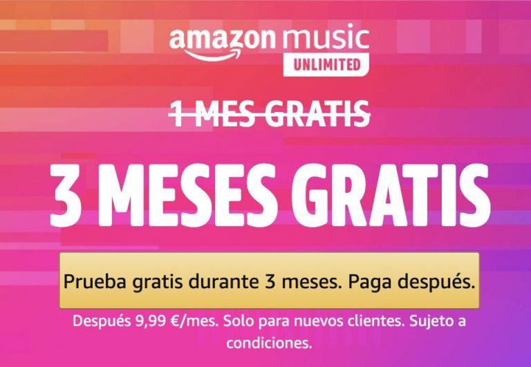 4 Meses Amazon Music unlimited GRATIS