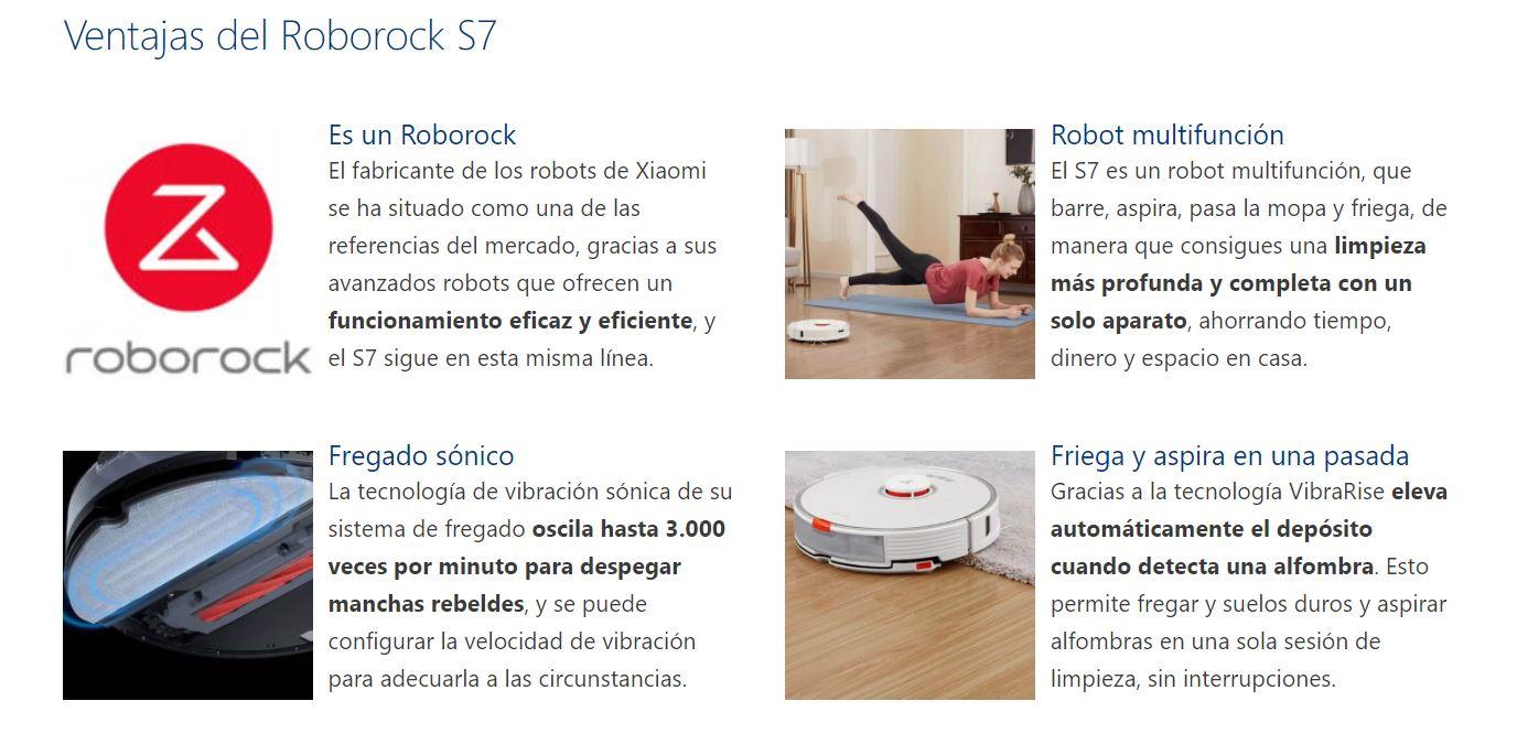 aspirador Roborock S7