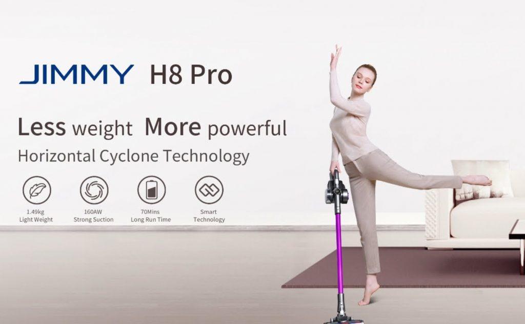 Jimmy H8 PRO la aspiradora top calidad precio, de rebaja desde España por solo 235€