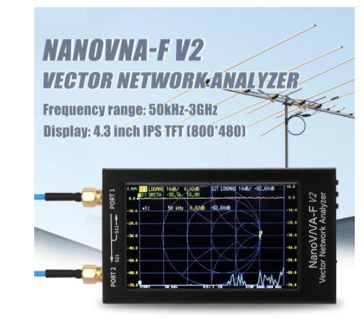 OFERTA! Analizador de red de Vector HF, VHF, UHF a 89,5€