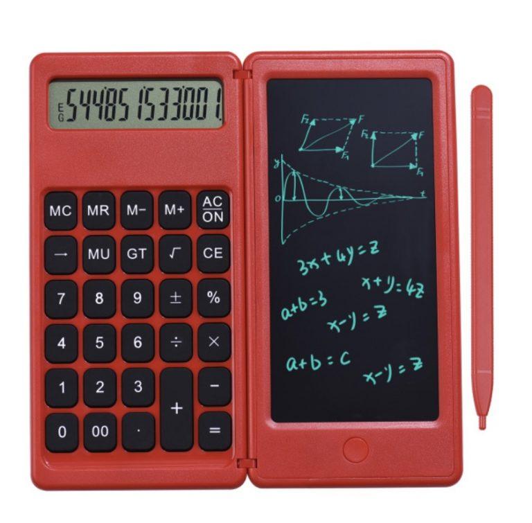OFERTA! Calculadora plegable con pantalla de escritura LCD a 9€